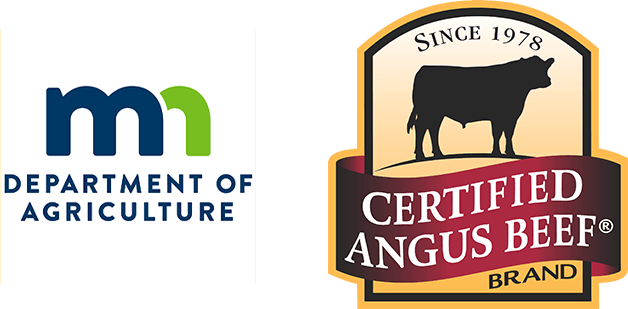 MN Department of Agriculture and Certified Angus Beef Logos